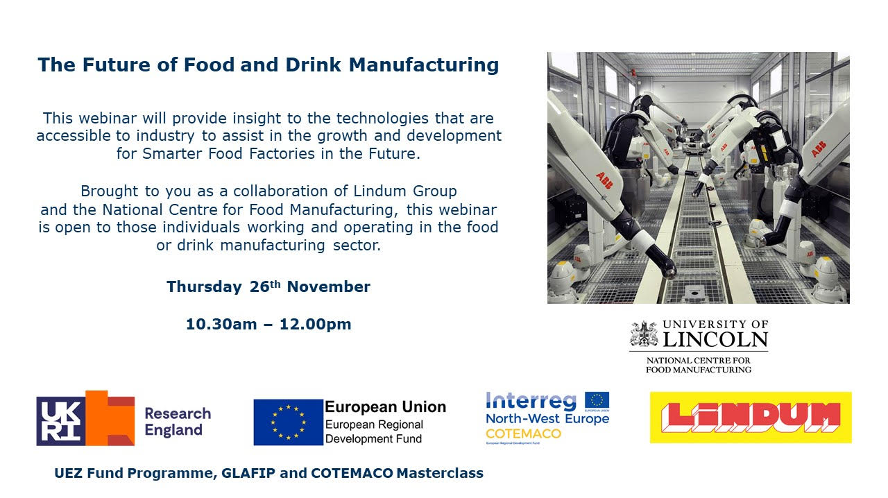 WEBINAR: The Future of Food and Drink Manufacturing